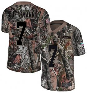 Wholesale Cheap Nike Redskins #7 Joe Theismann Camo Men\'s Stitched NFL Limited Rush Realtree Jersey