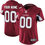 Wholesale Cheap Nike Arizona Cardinals Customized Red Team Color Stitched Vapor Untouchable Limited Women's NFL Jersey