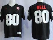Wholesale Cheap Nebraska Cornhuskers #80 Kenny Bell 2013 Black Jersey