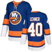 Wholesale Cheap Adidas Islanders #40 Robin Lehner Royal Blue Home Authentic Stitched NHL Jersey