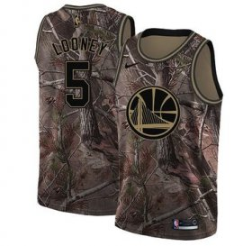 Wholesale Cheap Nike Golden State Warriors #5 Kevon Looney Camo NBA Swingman Realtree Collection Jersey