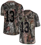 Wholesale Cheap Nike Texans #13 Brandin Cooks Camo Youth Stitched NFL Limited Rush Realtree Jersey