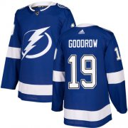 Cheap Adidas Lightning #19 Barclay Goodrow Blue Home Authentic Youth Stitched NHL Jersey
