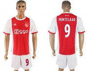 Wholesale Cheap Ajax #9 Huntelaar Home Soccer Club Jersey