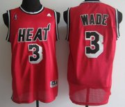 Wholesale Cheap Miami Heat #3 Dwyane Wade 2013 Red Swingman Jersey