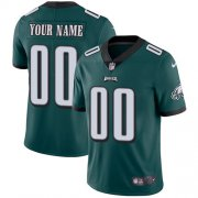 Wholesale Cheap Nike Philadelphia Eagles Customized Midnight Green Team Color Stitched Vapor Untouchable Limited Youth NFL Jersey