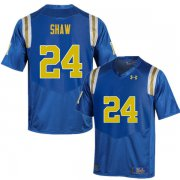 Wholesale Cheap Men #24 Jay Shaw UCLA Bruins Under Armour College Football Blue Jerseys
