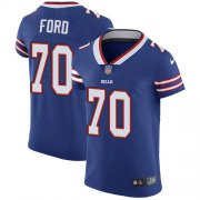 Wholesale Cheap Nike Bills #70 Cody Ford Royal Blue Team Color Men's Stitched NFL Vapor Untouchable Elite Jersey