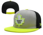 Wholesale Cheap Toronto Maple Leafs Snapback Ajustable Cap Hat YD 2