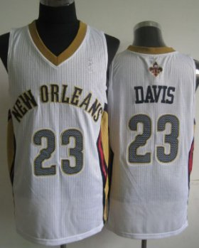 Wholesale Cheap New Orleans Pelicans #23 Anthony Davis White Swingman Jersey