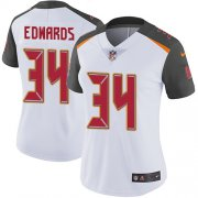 Wholesale Cheap Nike Buccaneers #34 Mike Edwards White Women's Stitched NFL Vapor Untouchable Limited Jersey