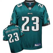 Wholesale Cheap Eagles #23 Rodgers-Cromartie Green Stitched NFL Jersey