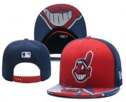 Wholesale Cheap Cleveland Indians Snapback Ajustable Cap Hat YD