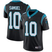 Wholesale Cheap Nike Panthers #10 Curtis Samuel Black Team Color Youth Stitched NFL Vapor Untouchable Limited Jersey