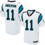 Wholesale Cheap Nike Panthers #11 Robby Anderson White Men's Stitched NFL New Elite Jersey