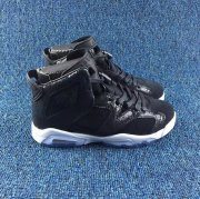 Wholesale Cheap Womens Jordan 6 Oreo Black White