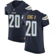 Wholesale Nike Chargers #20 Desmond King Navy Blue Team Color Men's Stitched NFL Vapor Untouchable Elite Jersey