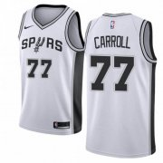 Wholesale Cheap Nike Spurs #77 DeMarre Carroll White NBA Swingman Association Edition Jersey