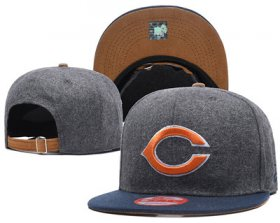 Wholesale Cheap NFL Chicago Bears Team Logo Snapback Adjustable Hat