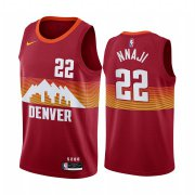 Wholesale Cheap Nike Nuggets #22 Zeke Nnaji Red NBA Swingman 2020-21 City Edition Jersey