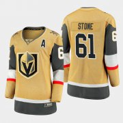Cheap Vegas Golden Knights #61 Mark Stone Women 2020-21 Player Alternate Stitched NHL Jersey Gold