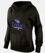 Wholesale Cheap Women's Tennessee Titans Big & Tall Critical Victory Pullover Hoodie Black