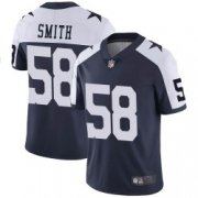 Wholesale Cheap Youth Dallas Cowboys #58 Aldon Smith Limited Navy Alternate Vapor Untouchable Jersey
