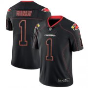 Wholesale Cheap Nike Cardinals #1 Kyler Murray Lights Out Black Men's Stitched NFL Limited Rush Jersey