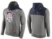 Wholesale Cheap Men's Minnesota Twins Nike Gray Cooperstown Collection Hybrid Pullover Hoodie