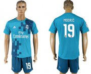 Wholesale Cheap Real Madrid #19 Modric Sec Away Soccer Club Jersey