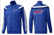 Wholesale Cheap NFL Buffalo Bills Team Logo Jacket Blue_5