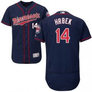 Wholesale Cheap Twins #14 Kent Hrbek Navy Blue Flexbase Authentic Collection Stitched MLB Jersey