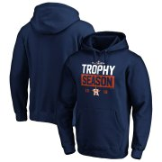 Wholesale Cheap Houston Astros Majestic 2019 Postseason Around the Horn Pullover Hoodie Navy
