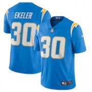 Wholesale Cheap Los Angeles Chargers #30 Austin Ekeler Men's Nike Powder Blue 2020 Vapor Limited Jersey