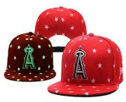 Wholesale Cheap MLB Los Angeles Angels of Anaheim Snapback Ajustable Cap Hat 1