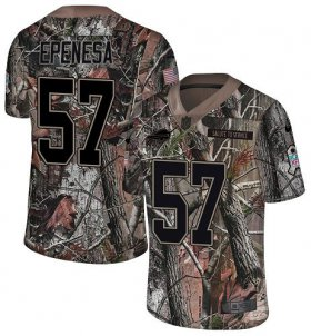 Wholesale Cheap Nike Bills #57 A.J. Epenesas Camo Men\'s Stitched NFL Limited Rush Realtree Jersey
