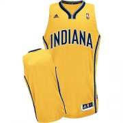 Wholesale Cheap Indiana Pacers Blank Yellow Swingman Jersey