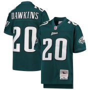 Wholesale Cheap Youth Philadelphia Eagles #20 Brian Dawkins Mitchell & Ness Midnight Green 2004 Legacy Retired Player Jersey