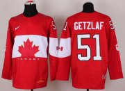 Wholesale Cheap Olympic 2014 CA. #51 Ryan Getzlaf Red Stitched NHL Jersey