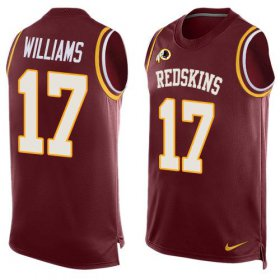 Wholesale Cheap Nike Redskins #17 Doug Williams Burgundy Red Team Color Men\'s Stitched NFL Limited Tank Top Jersey
