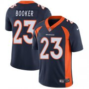 Wholesale Cheap Nike Broncos #23 Devontae Booker Blue Alternate Youth Stitched NFL Vapor Untouchable Limited Jersey