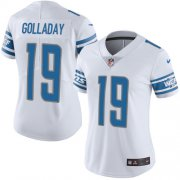 Wholesale Cheap Nike Lions #19 Kenny Golladay White Women's Stitched NFL Vapor Untouchable Limited Jersey
