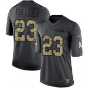 Wholesale Cheap Nike Bears #23 Kyle Fuller Black Men's Stitched NFL Limited 2016 Salute to Service Jersey