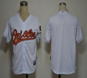 Wholesale Cheap Orioles Blank White Cool Base Stitched MLB Jersey