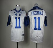 Wholesale Cheap Cardinals #11 Larry Fitzgerald White 2012 Pro Bowl Stitched NFL Jersey
