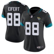 Wholesale Cheap Nike Jaguars #88 Tyler Eifert Black Team Color Women's Stitched NFL Vapor Untouchable Limited Jersey