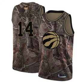 Wholesale Cheap Raptors #14 Danny Green Camo 2019 Finals Bound Basketball Swingman Realtree Collection Jersey