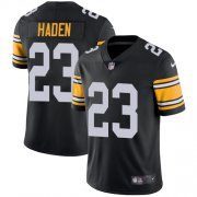 Wholesale Cheap Nike Steelers #23 Joe Haden Black Alternate Youth Stitched NFL Vapor Untouchable Limited Jersey