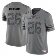 Wholesale Cheap Ohio State Buckeyes 26 Antonio Williams Gray Shadow College Football Jersey