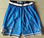 Wholesale Cheap Men's Orlando Magic Blue Pinstripe Short